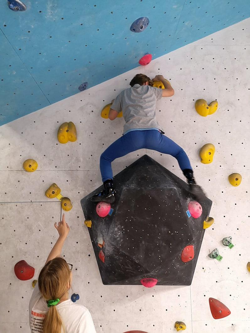 Unser Sorgenkind kann kletter