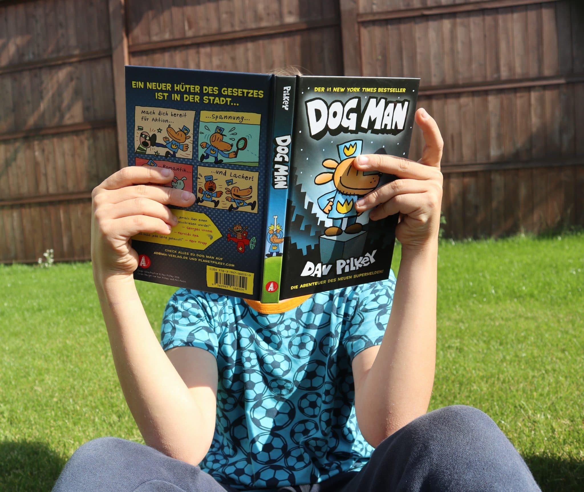 Dog Man, die Buchreihe aus dem Adrian Verlag_ grossekoepfe.de