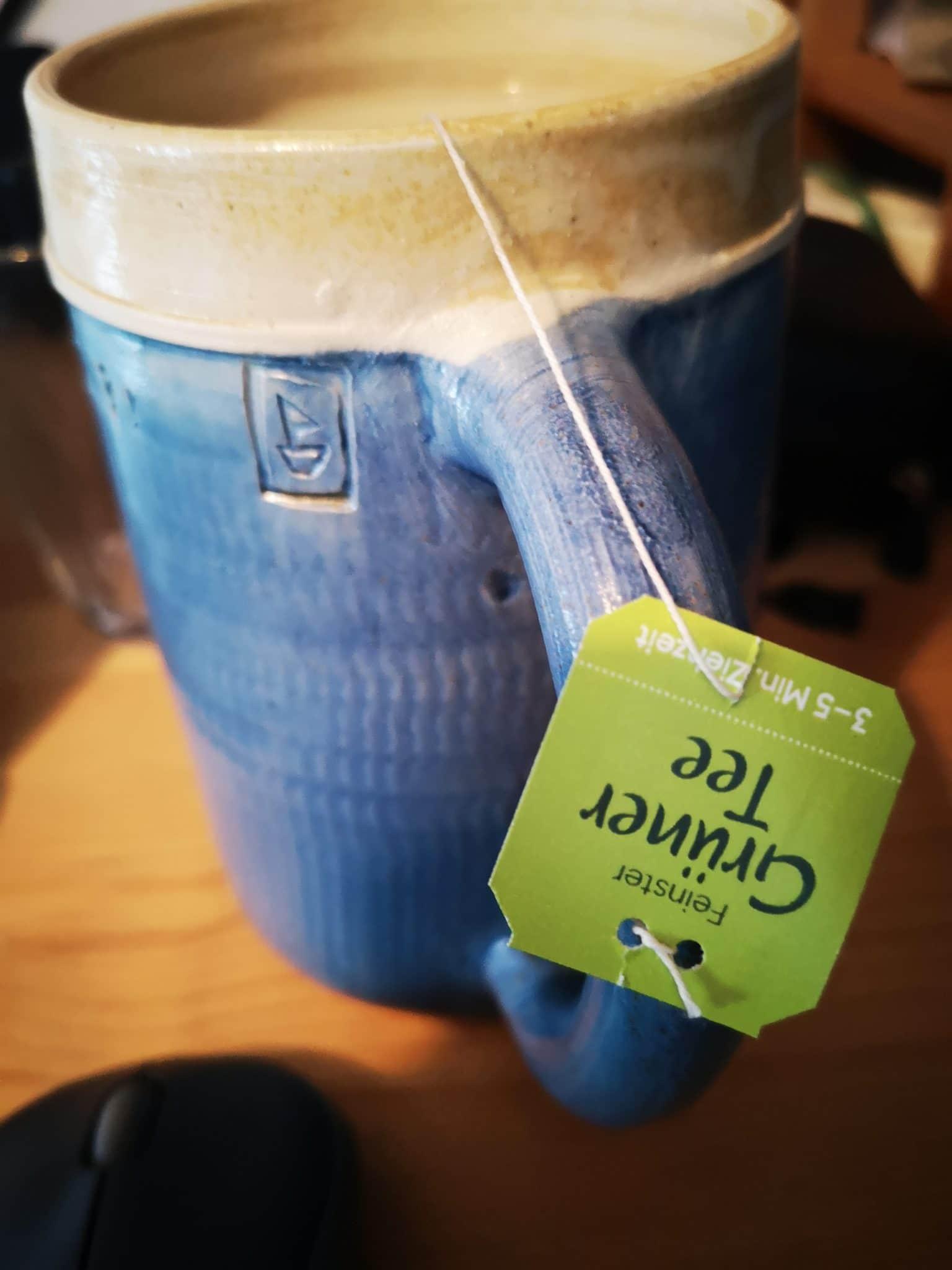 #2 Ich trinke Tee und versuche vom Kaffee wegzukommen.