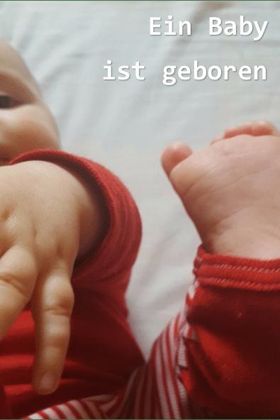 Ein Baby ist geboren_Ein Baby der Geborgenheit_grossekoepfe