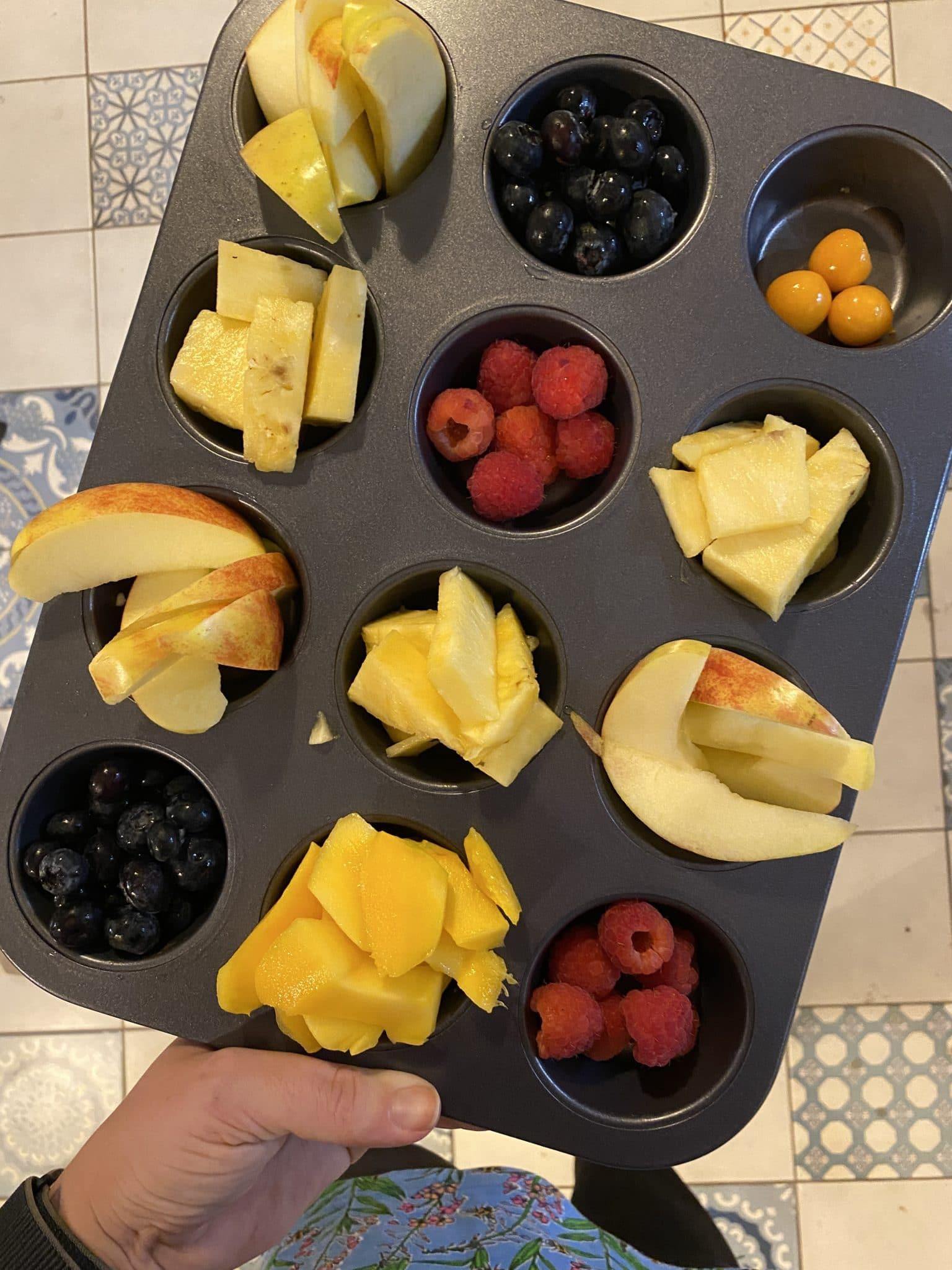 Zum Abendessen wieder Obstinfluencer für alle : )