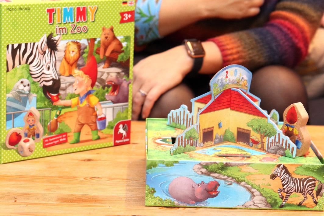 Timmy im Zoo - ein Familienspiel für Kinder ab 3 Jahren