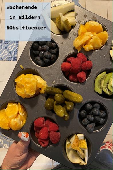 Obstfluencer Wochenende in Bildern