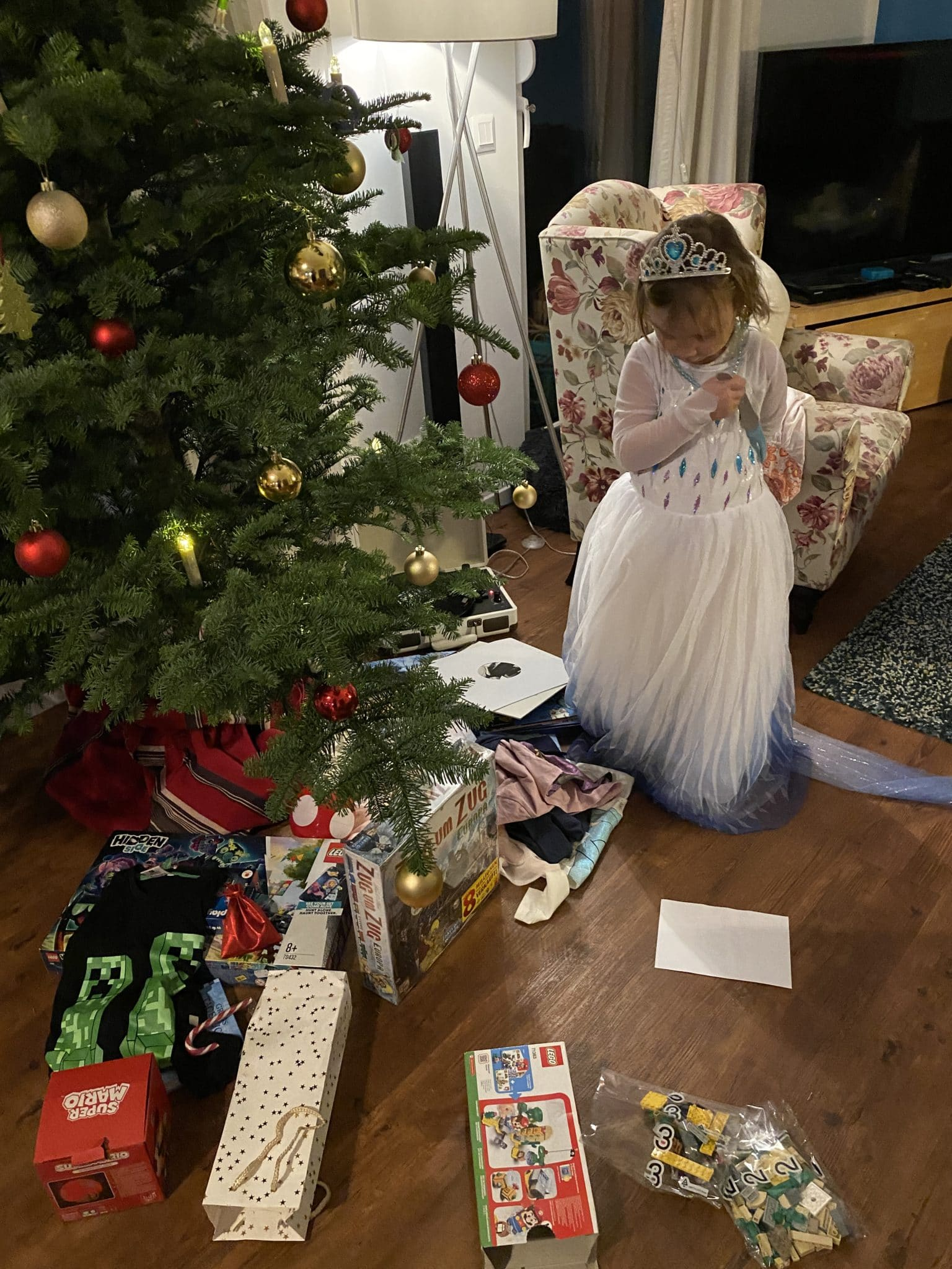 Weihnachten in den Familien in der Corona Zeit