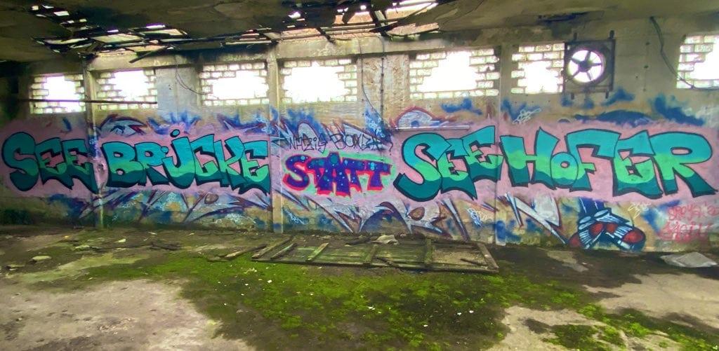 In Pankow heute ein spannendes Graffiti entdeckt.