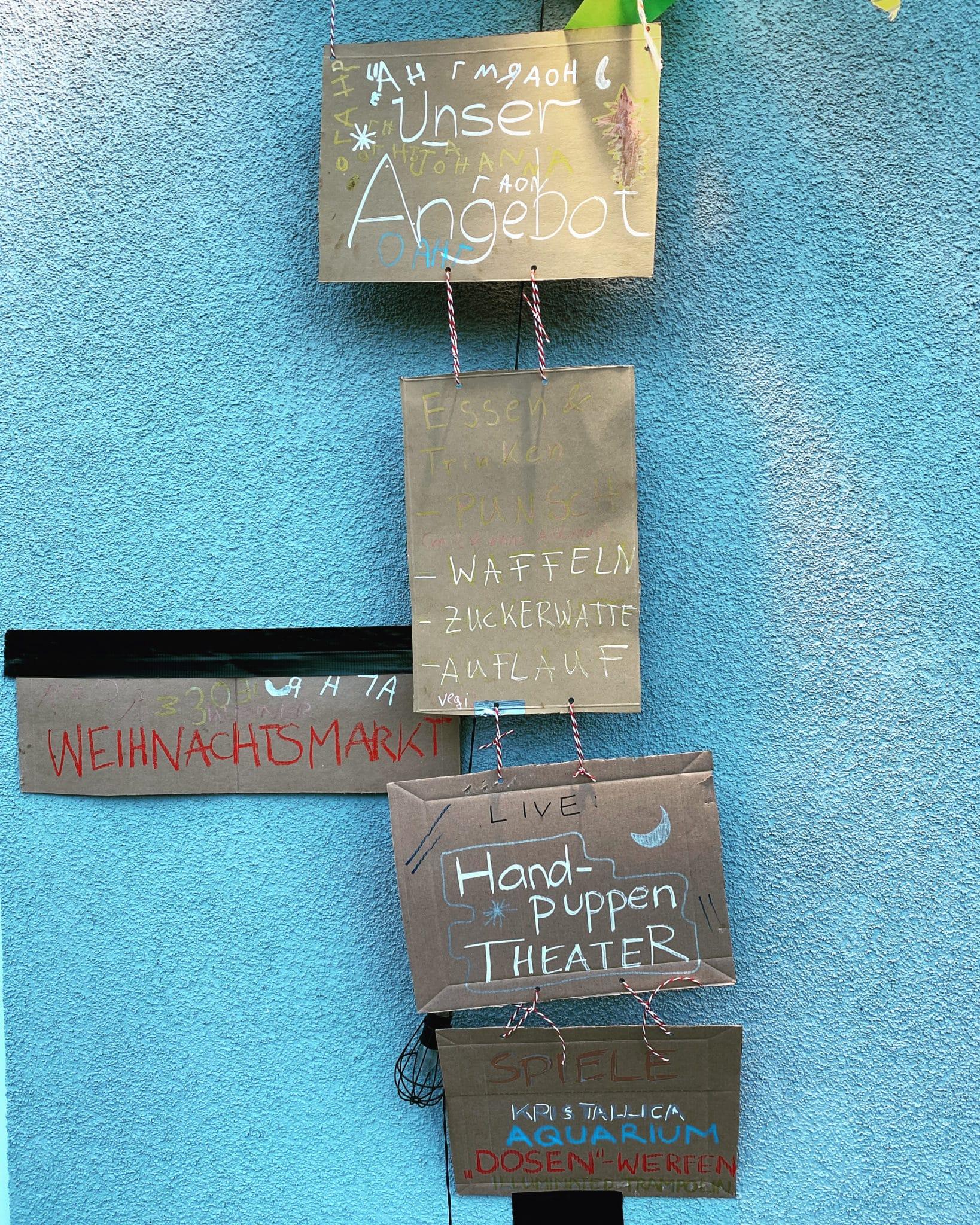 ein kleiner Weihnachtsmarkt für Kinder_grossekoepfe.de
