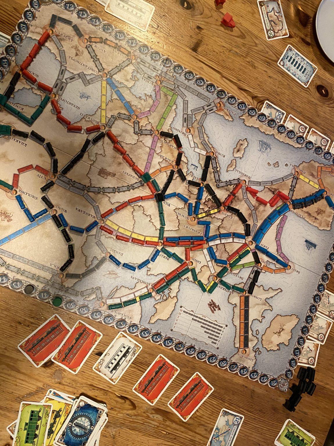 Zug um Zug Spiel am Wochenende in Bildern_grossekoepfe.de