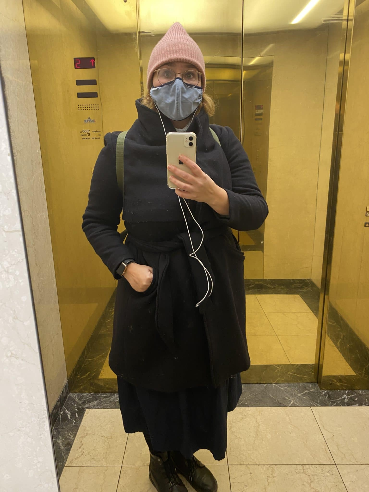 #5 Mein Arzttermin ist mal wieder mit dem schicksten Fahrtstuhl Berlins erreichbar.