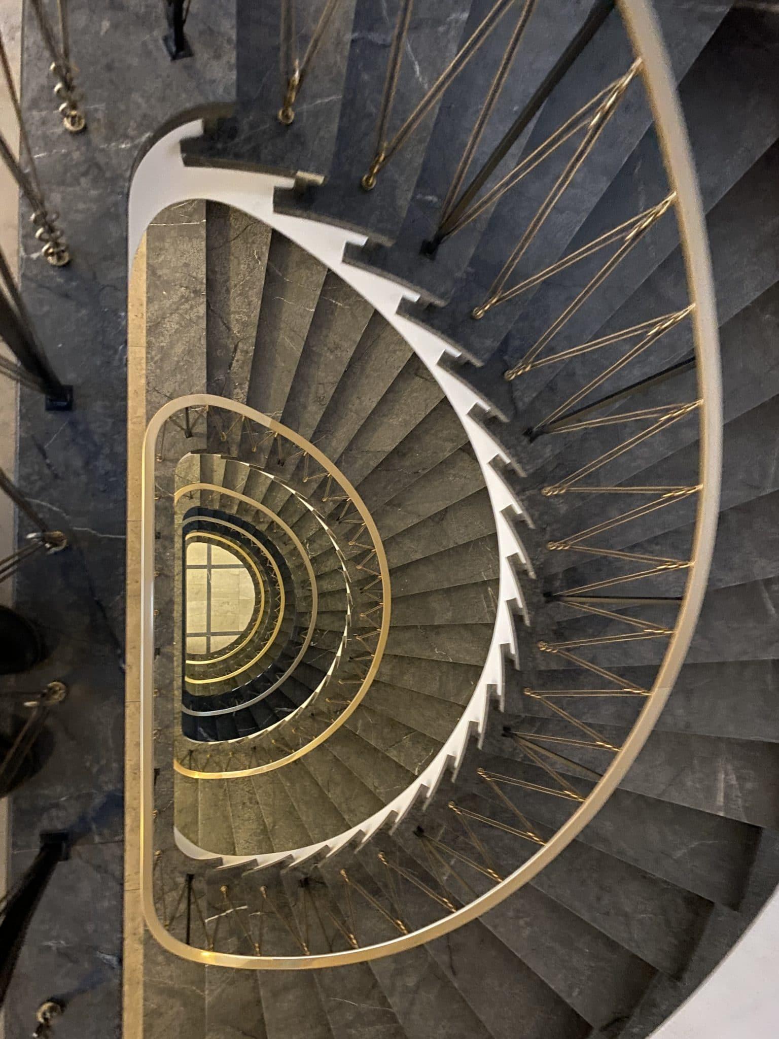 #7 und fertig. Meine Schilddrüse und ich nehmen die Treppe.