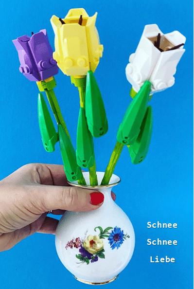 Blumen aus Lego_Liebesgeschenke