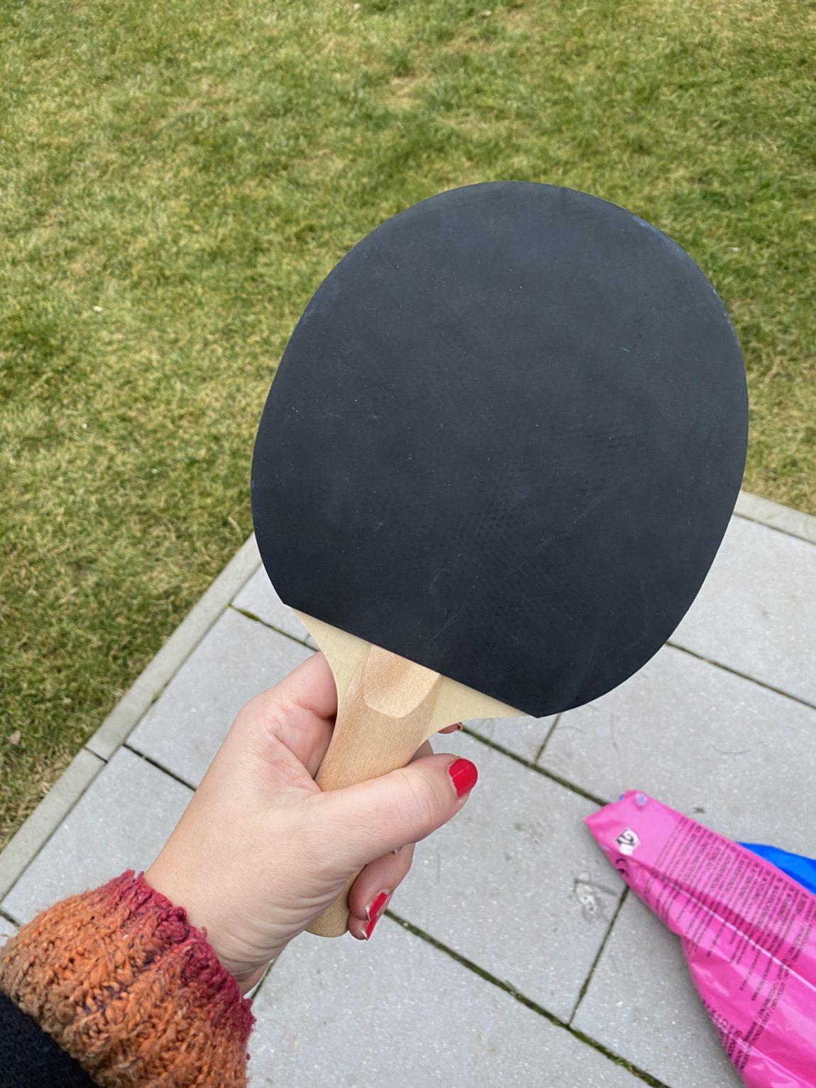 und am Nachmittag nochmal Tischtennis! Yeah!