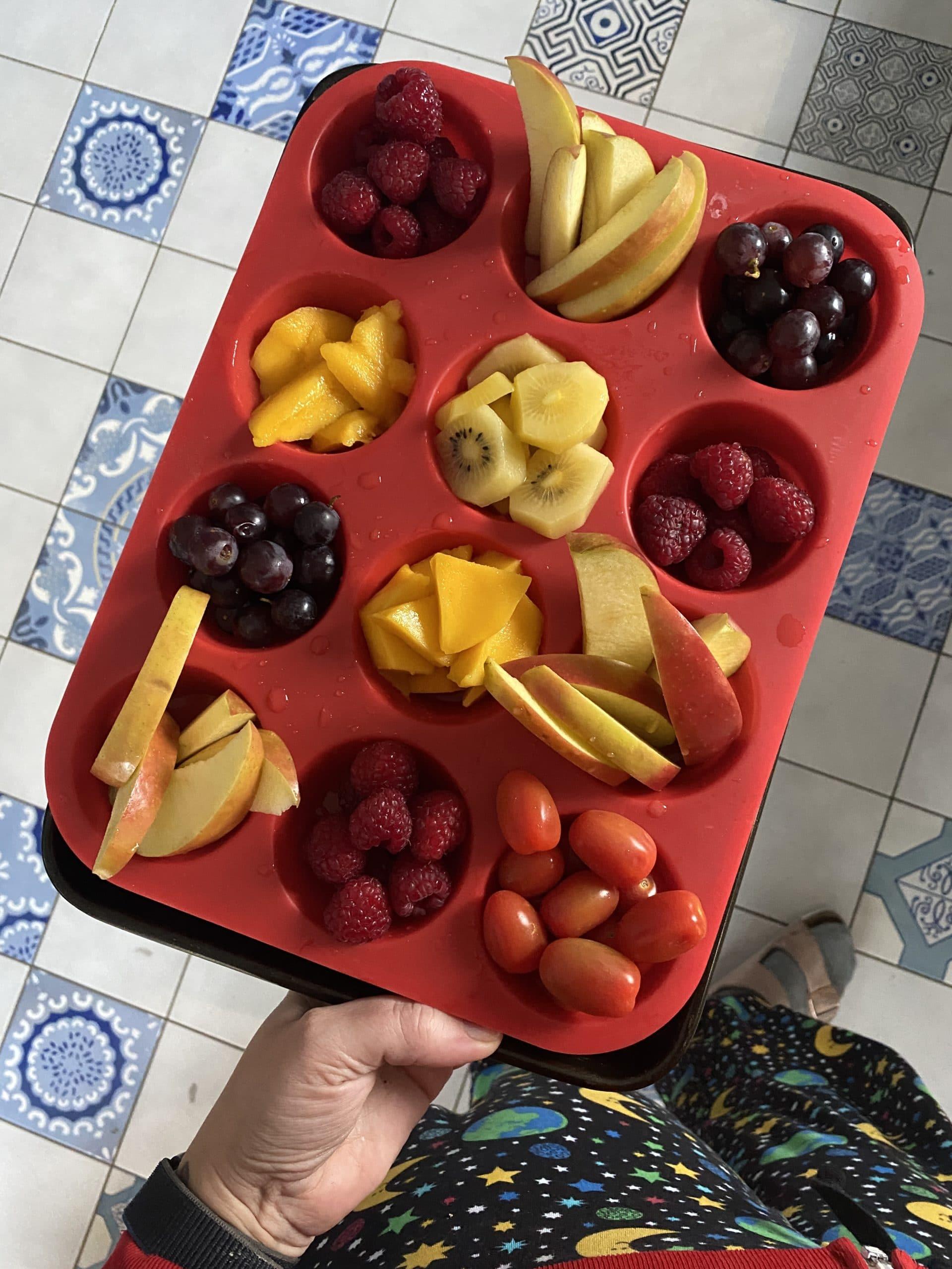 und am Ende des Wochenendes gibt es dann noch Obstfluencer.