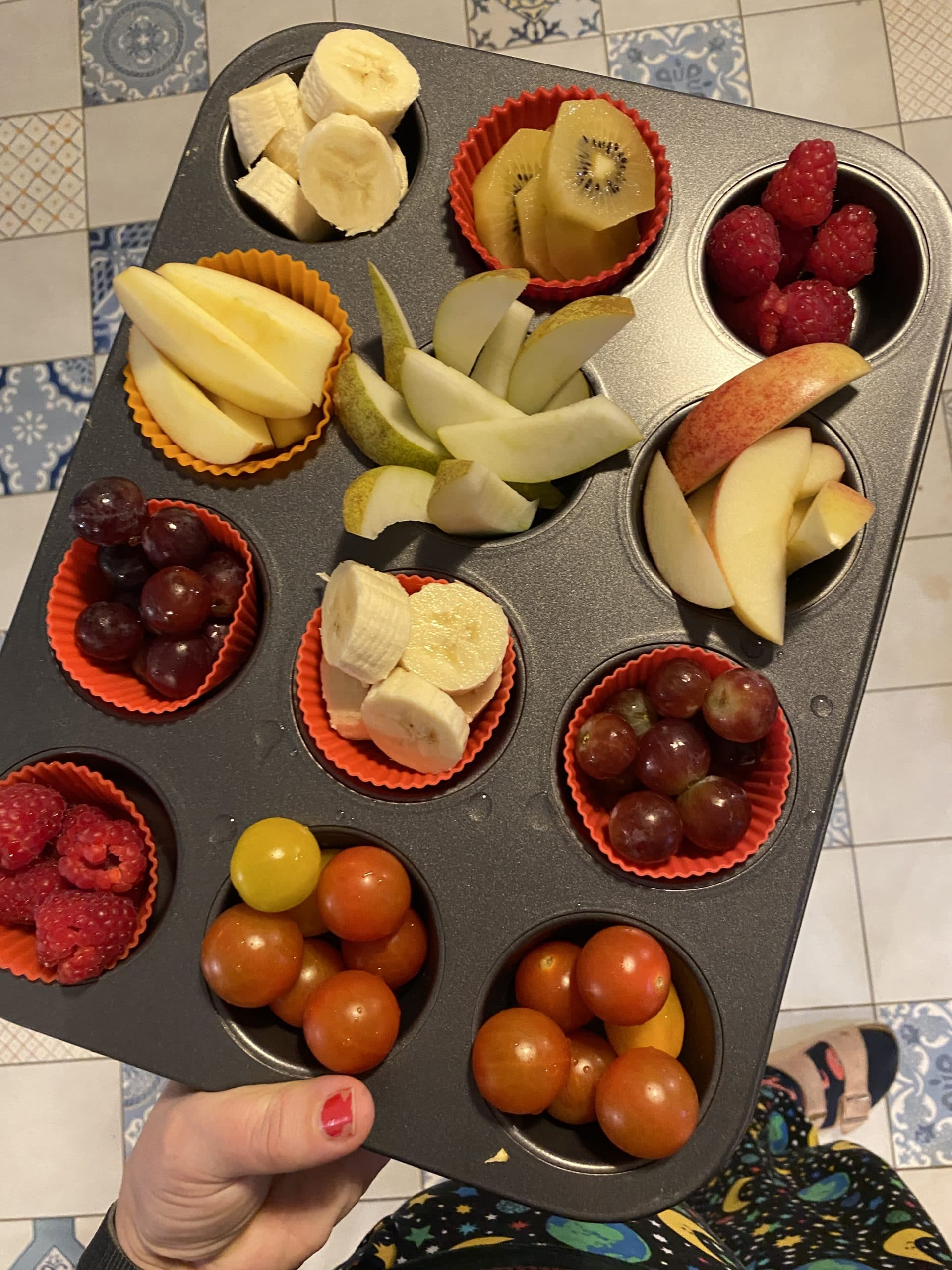 Am Abend gibt es dann noch #Obstfluencer.