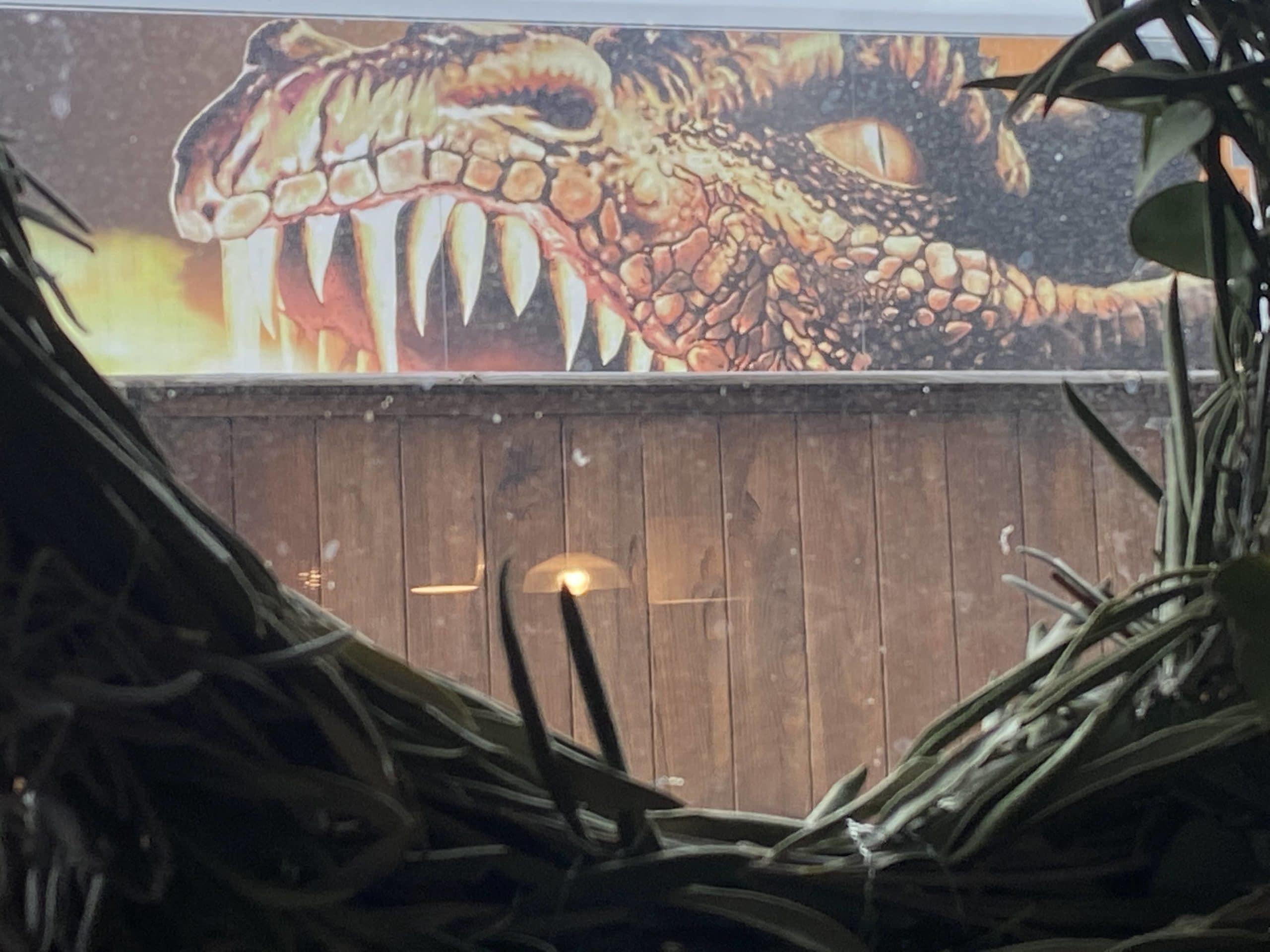 #10 Ich besiege ein paar Drachen, zumindest aus dem Fenster heraus.