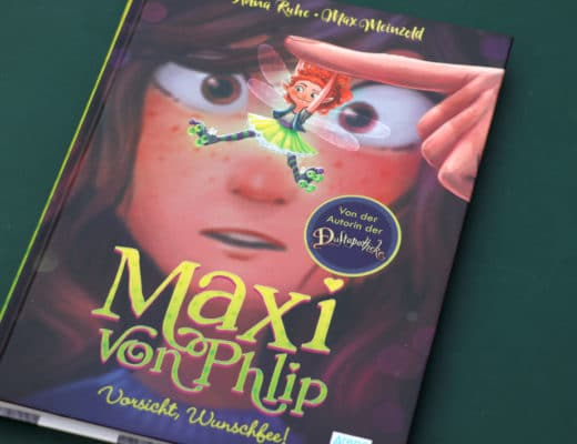 Maxi von Phlip- das Wunschfee Buch für kleine Leserinnen ab acht Jahren