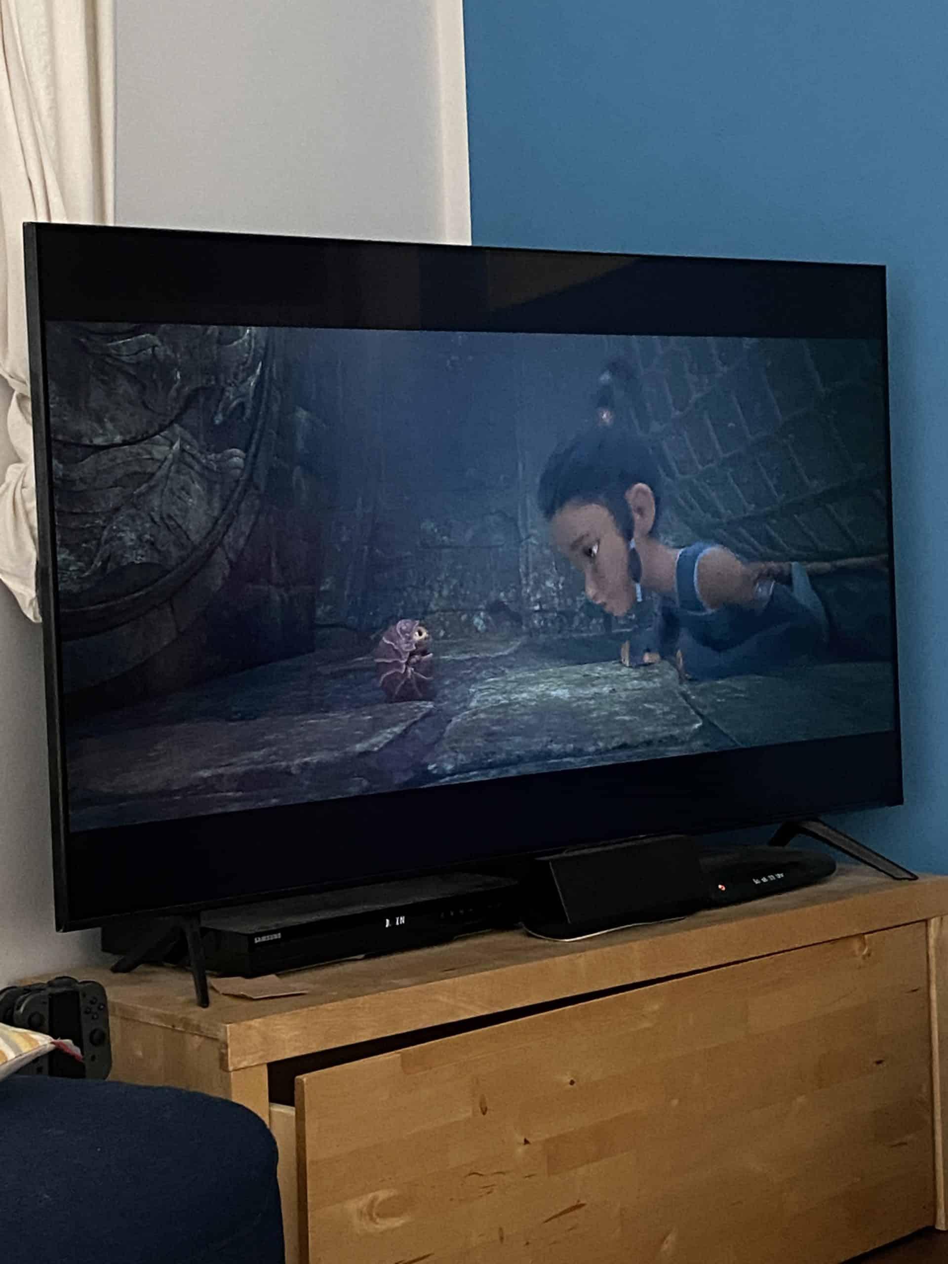Als Familienfilm daheim gibt es Raya und der letzte Drache. Gefällt uns sehr gut der Film.