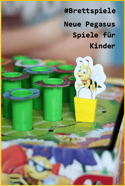Brettspiele für Pegasus - Kinderspiele für alle