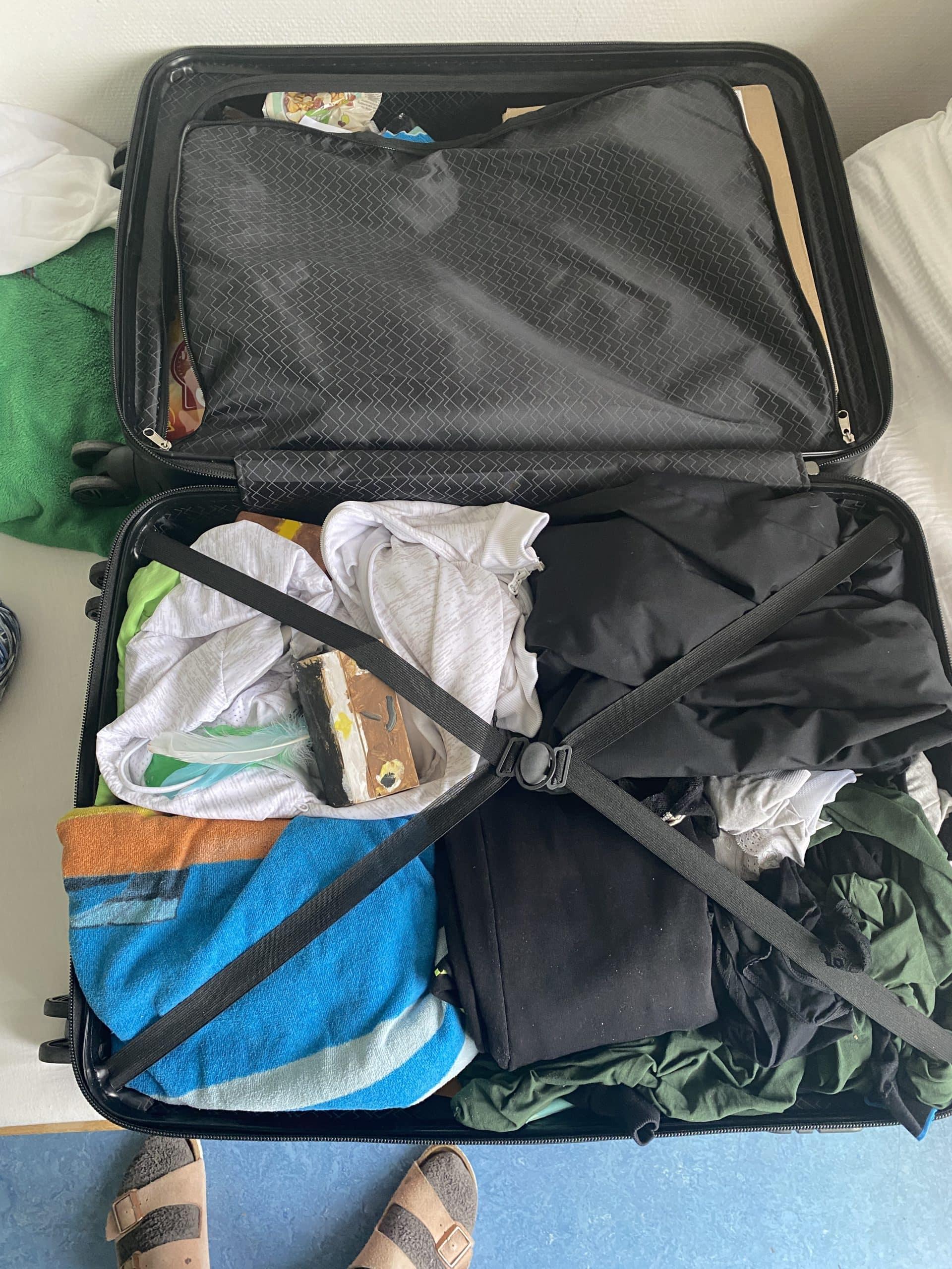 Am Nachmittag packe ich Koffer. In zwei Tagen reisen wir ab, dann steht noch ein Abschlussarzttermin in Berlin an. Ich tue mich schwer mit dem Packen.