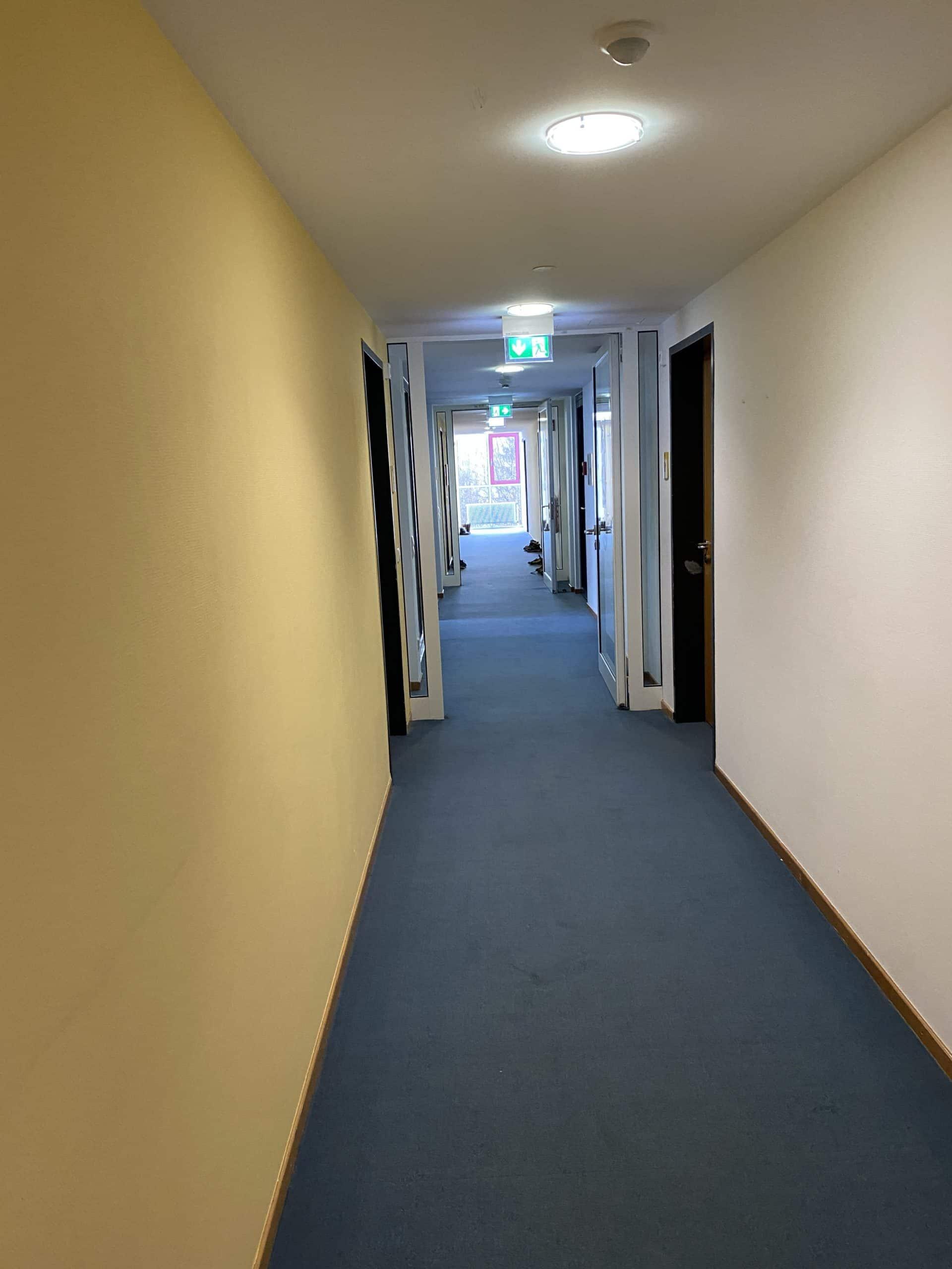 #8 Weitere Gänge mit weiteren Zimmern und weiteren Therapien..