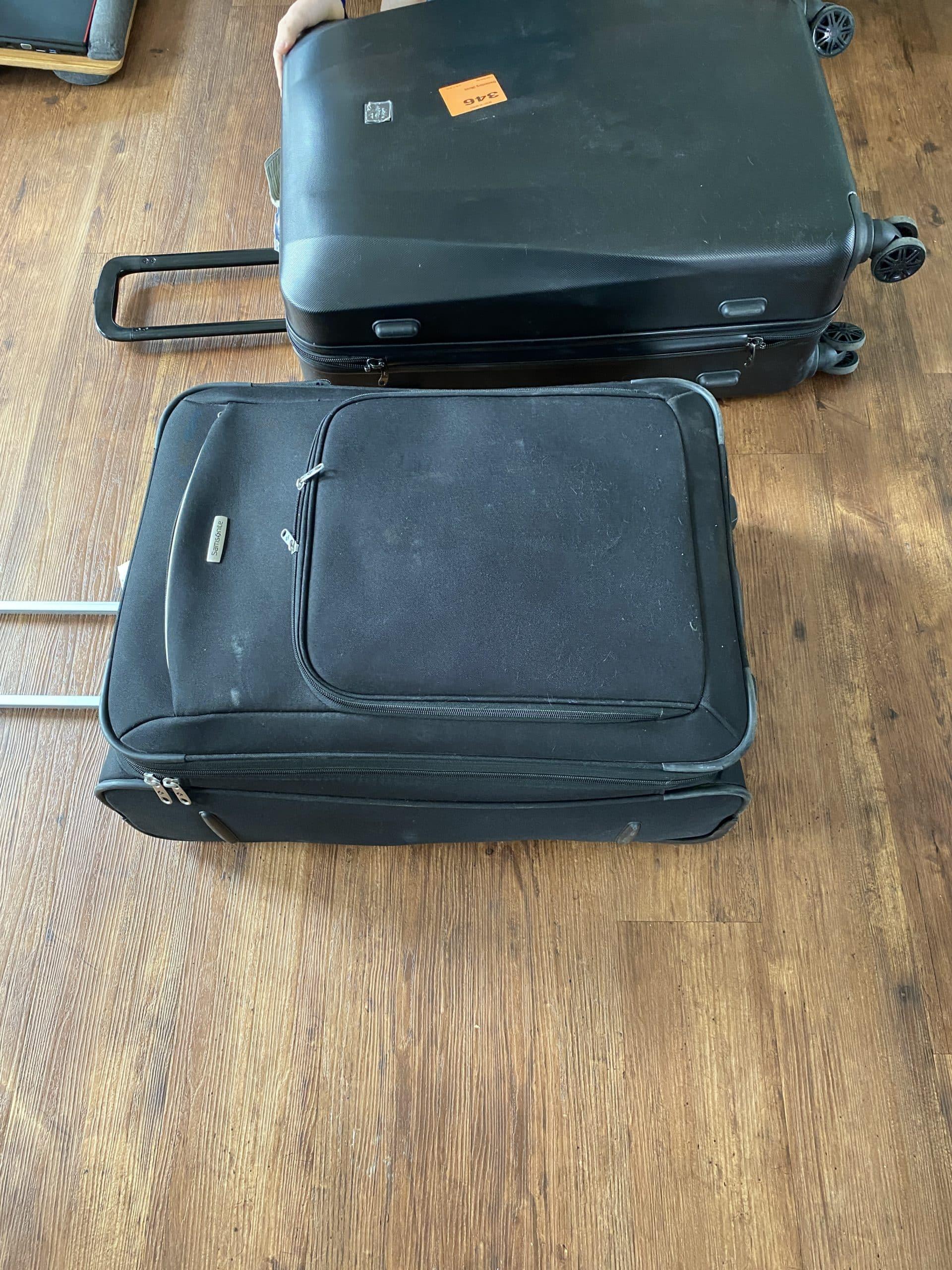 Hallo Samstag. Endlich sind unsere Koffer angekommen, wir verräumen die Reha Reste.