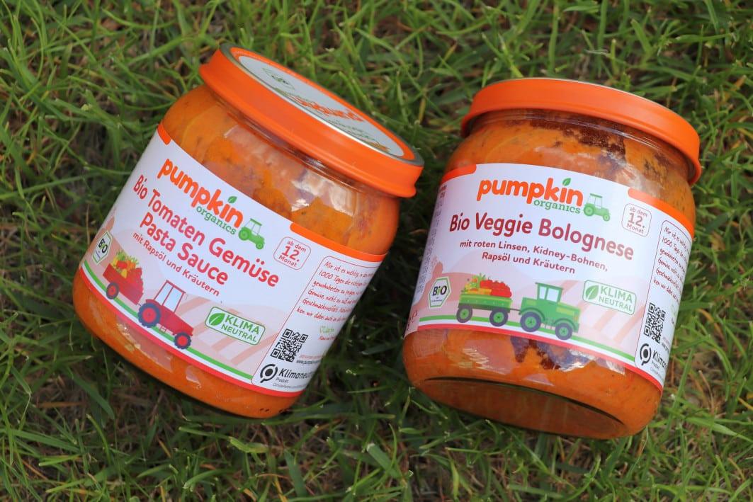 Pasta Saucen von Pumpkin Organics
