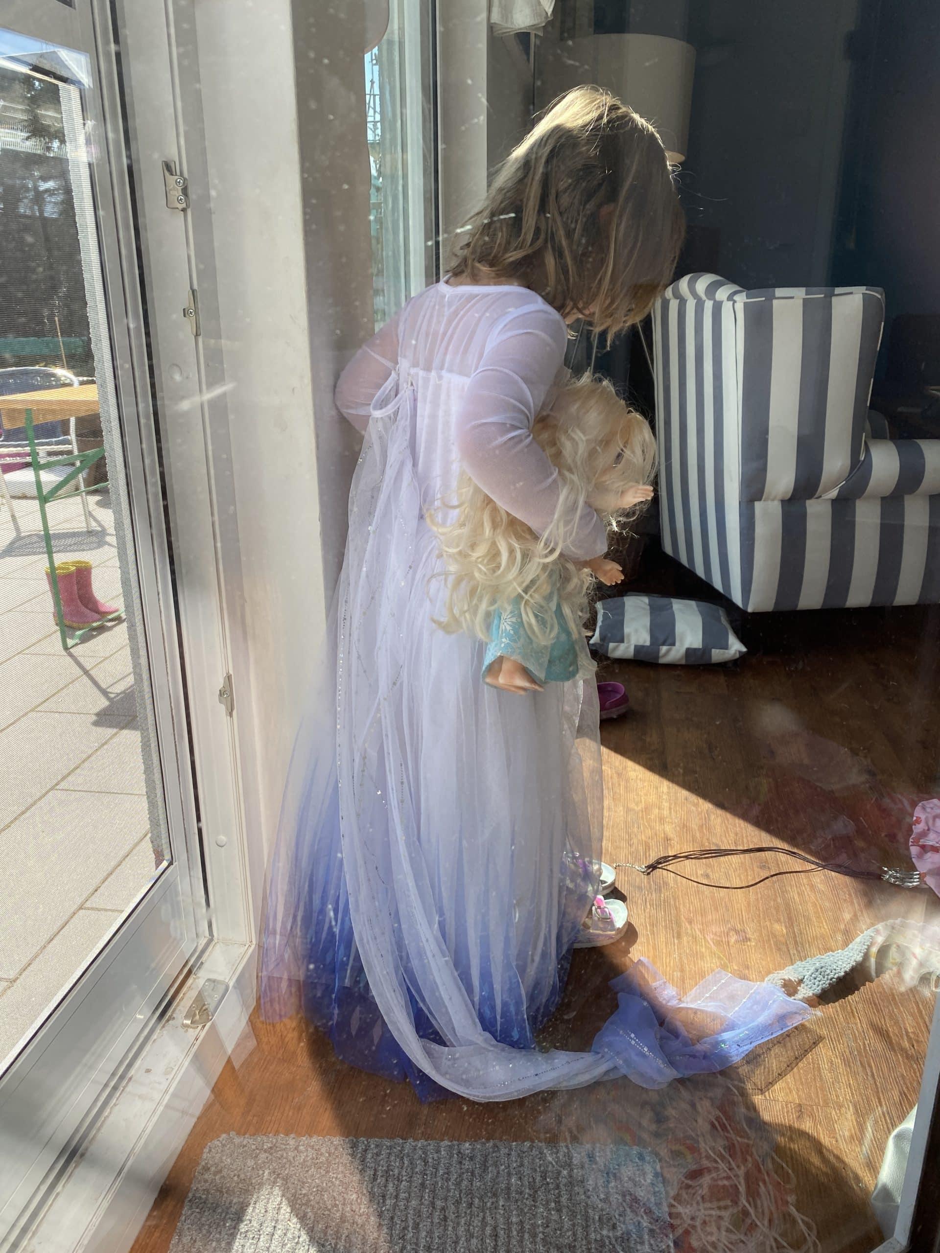 Wir haben heute Elsa zu Besuch.