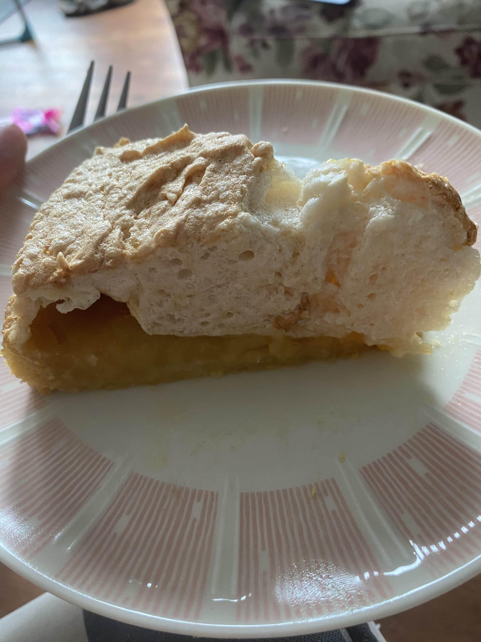 #8 Die Zitronentarte ist sehr gut, übrigens nach einem Rezept bei Frau Mutter gebacken.