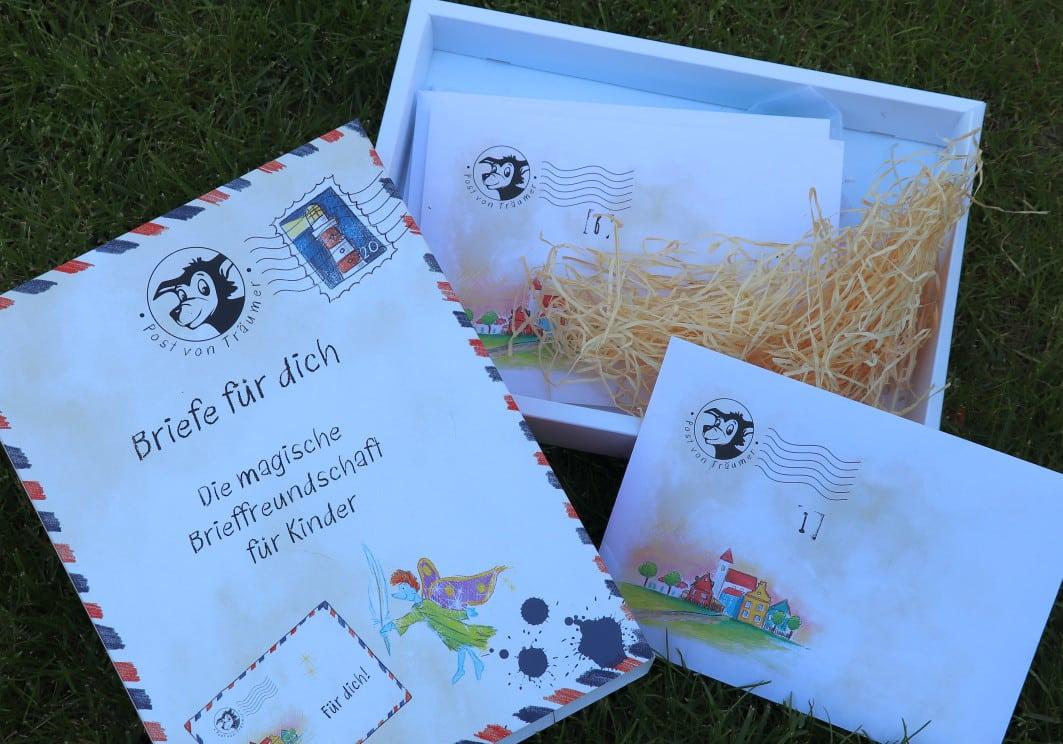 """Geschenkebox """"Briefe für dich"""" für Kinder"""