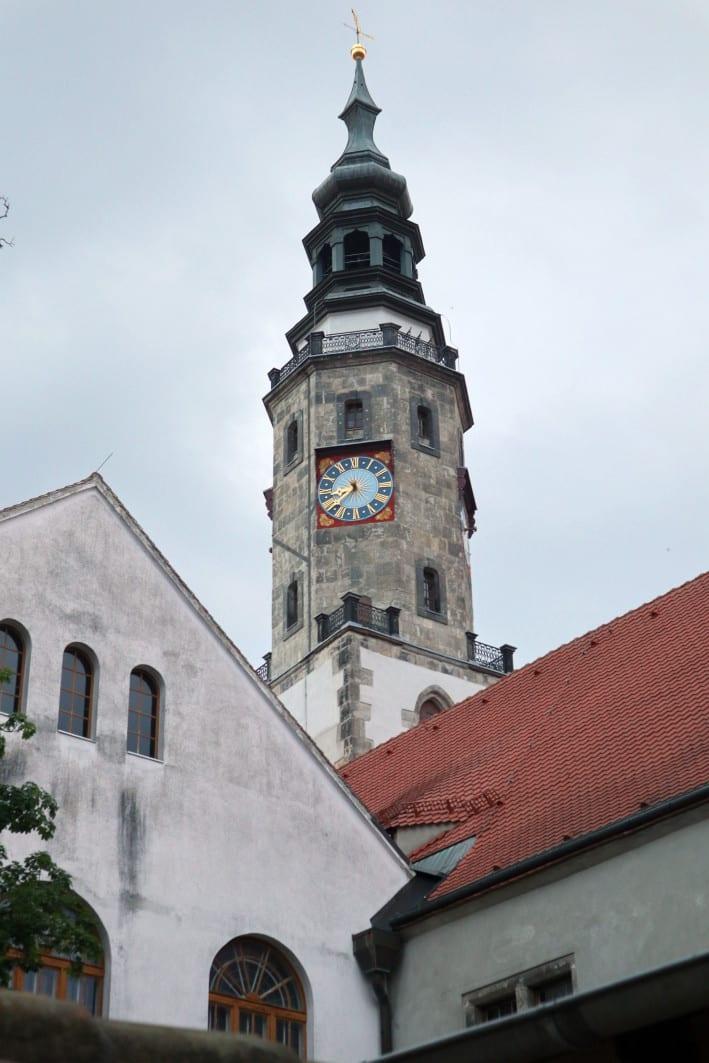 Urlaub in Görlitz_grossekoepfe Rathausturm Görlitz