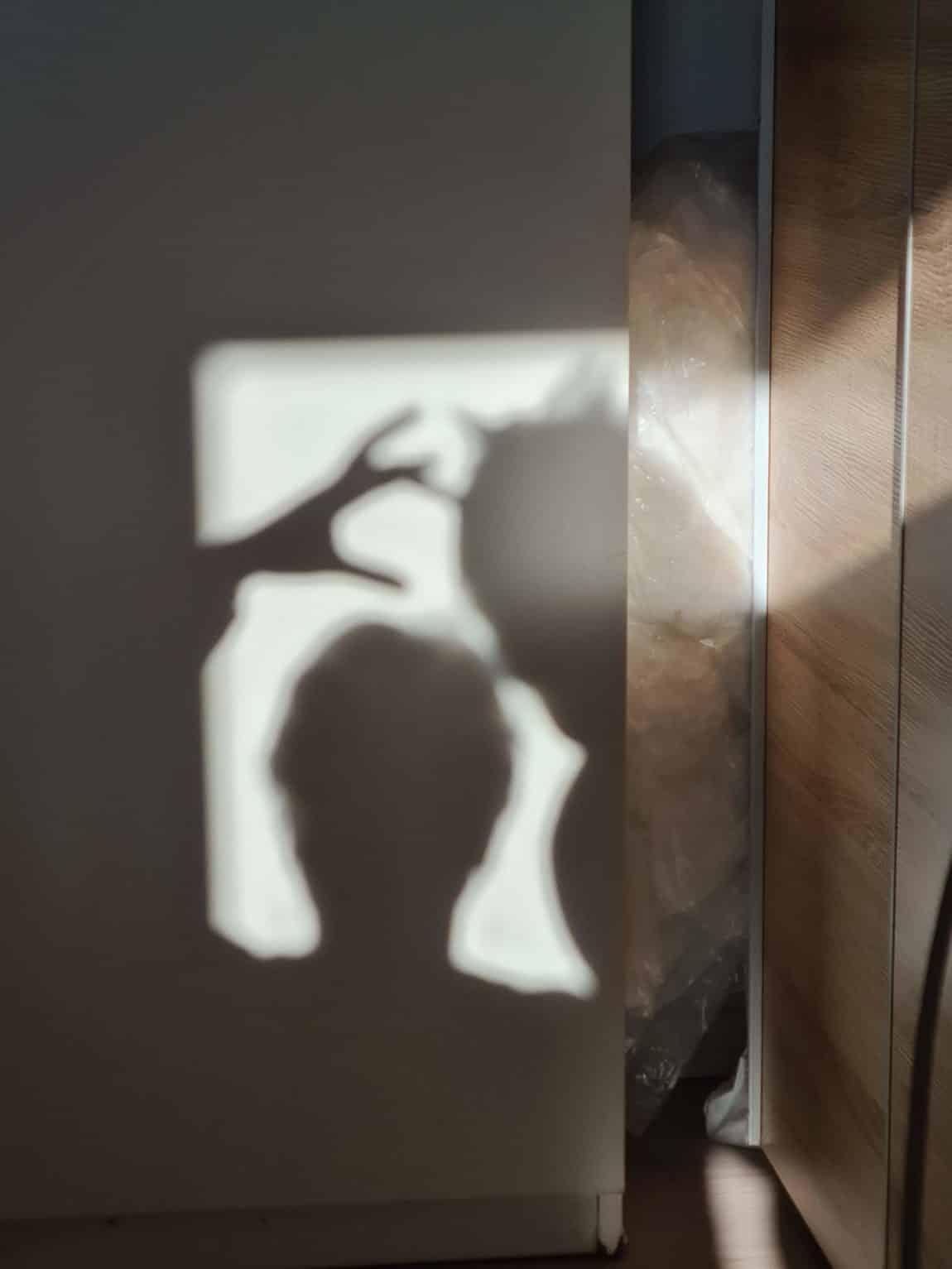 Ein Schatten meiner selbst inmitten von Corona