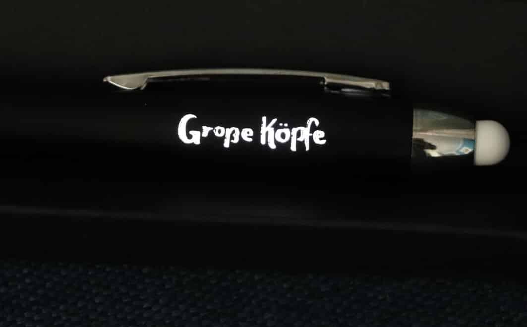 bedruckter Kugelschreiber von Wanapix