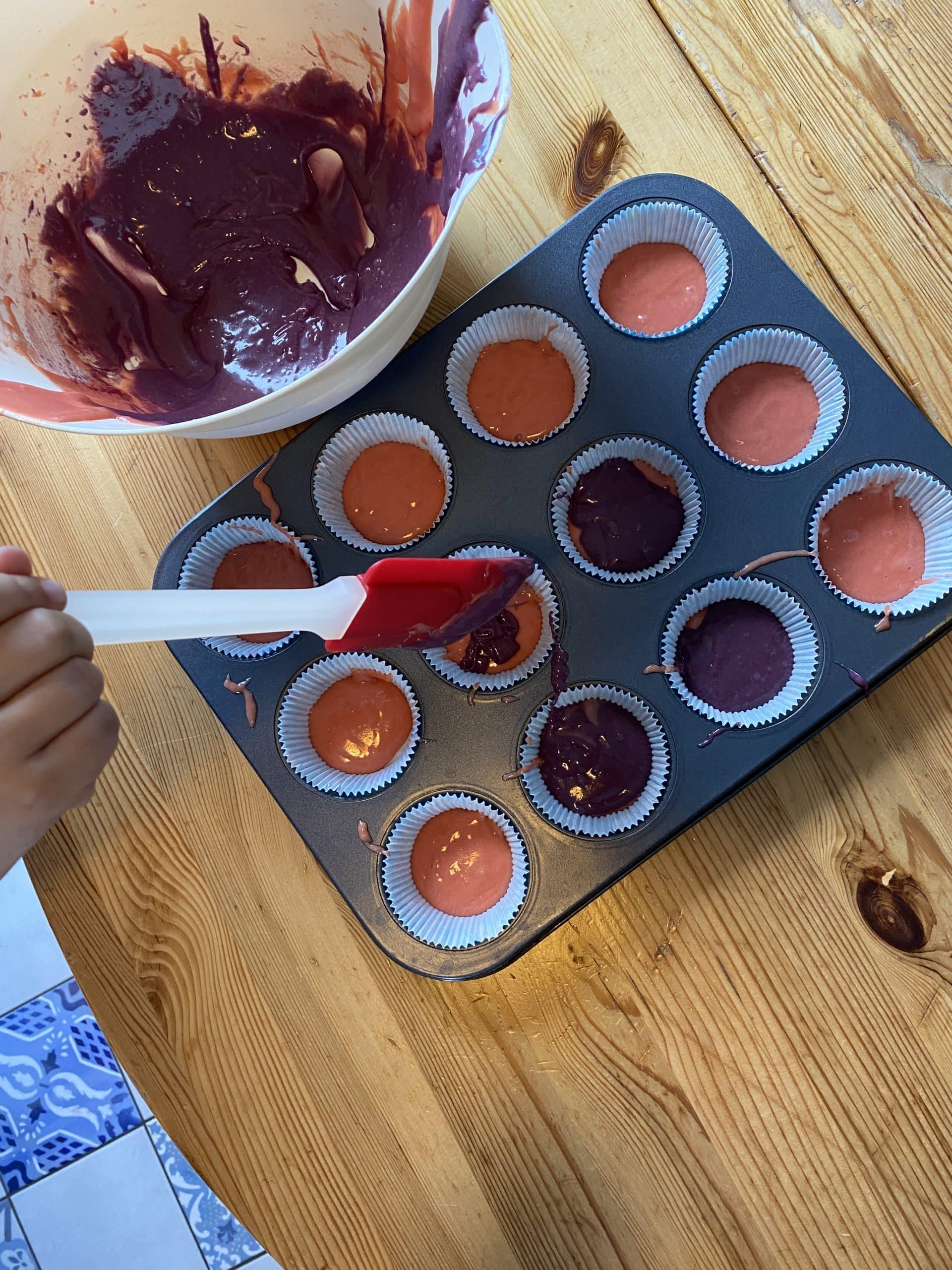 Anschließend will das Kind Muffins backen, Einhornmuffins. Warum funktioniert das bei mir nie?