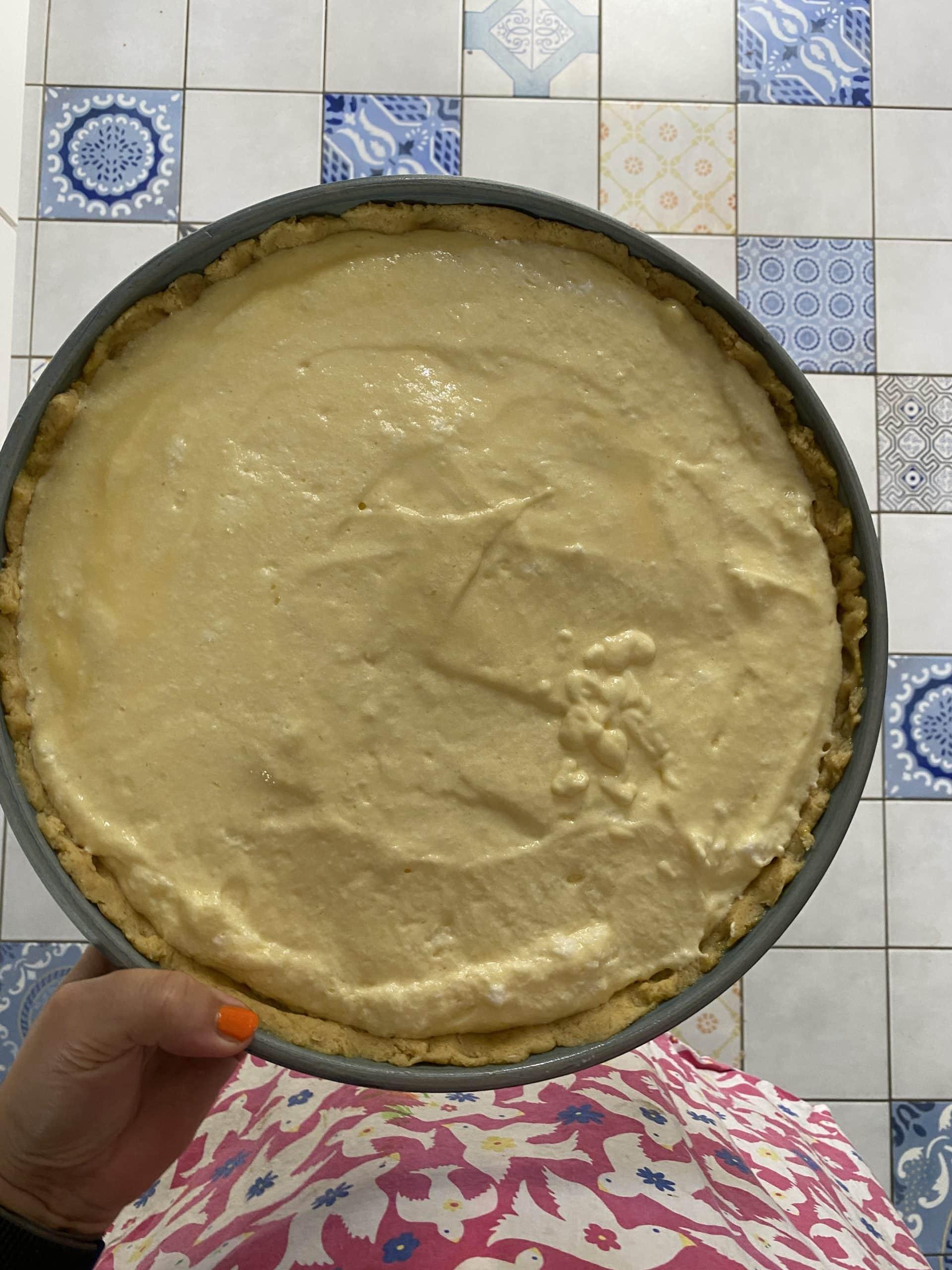 Danach wird Limonentarte gebacken.