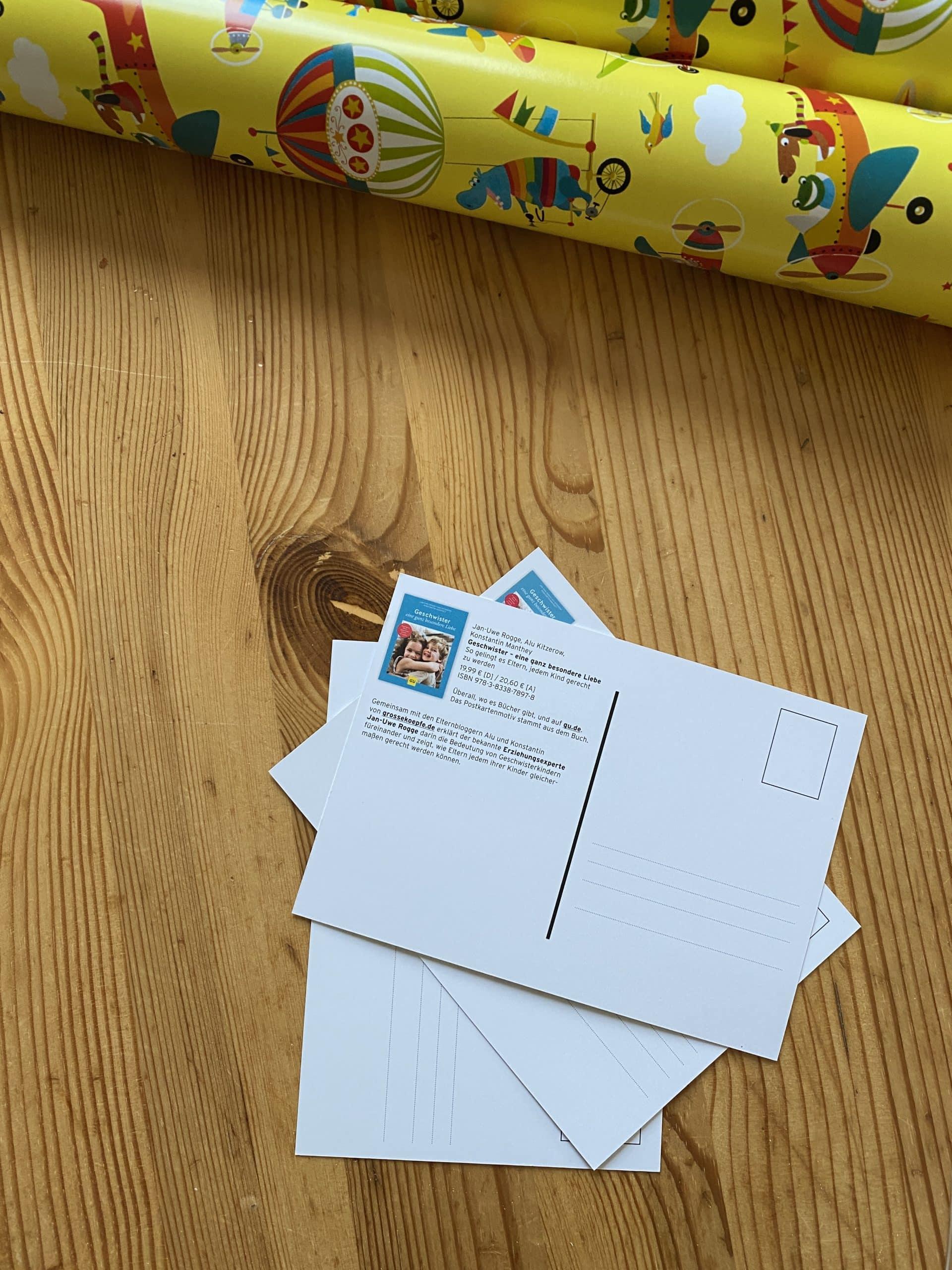 Ich verschicke mal etwas Post! Das wird Zeit.