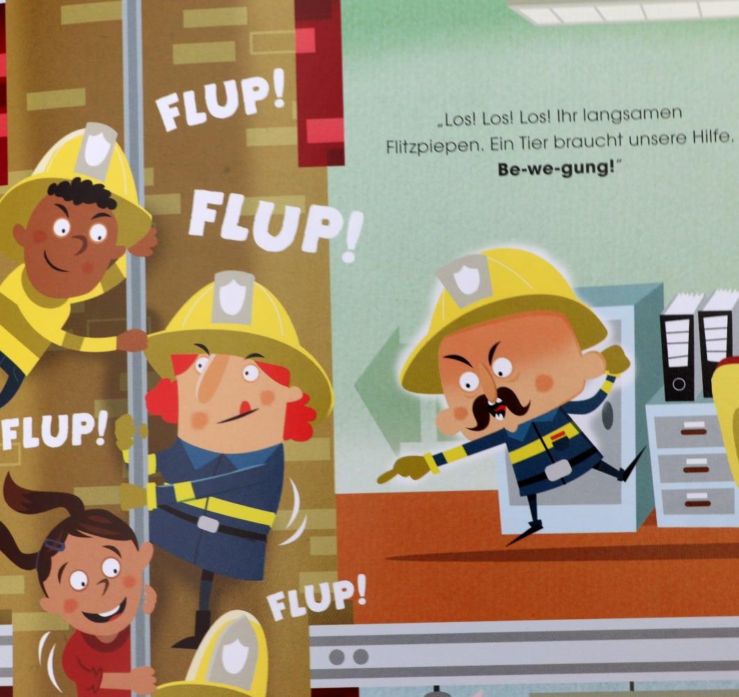 Die kleine Feuerwehr - Hoch hinaus - Migo Verlag